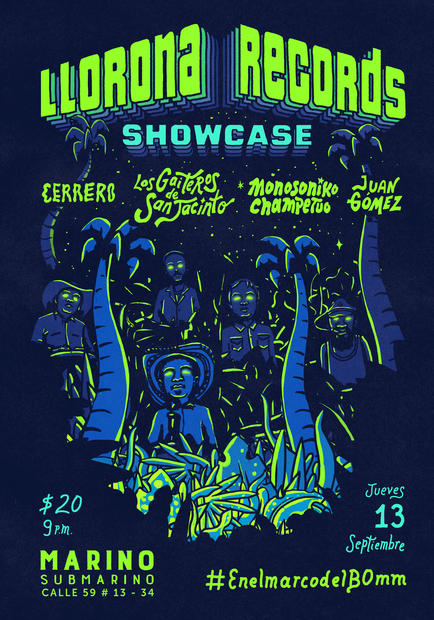 lloronarecords_showcase
